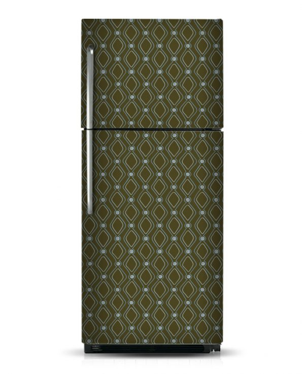 Diamond Dots - Magnetic Refrigerator Skins Kudu Magnets