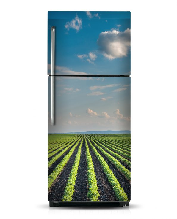 Field and Sky - Magnetic Refrigerator Skins Kudu Magnets