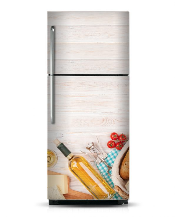 French Day - Magnetic Refrigerator Skins Kudu Magnets