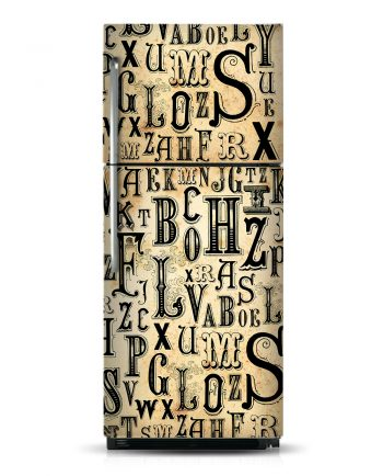Letters - Magnetic Refrigerator & Dishwasher Skins Kudu Magnets