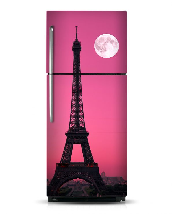 Paris Moon - Magnetic Refrigerator Skins Kudu Magnets