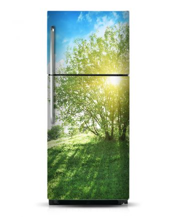 Sunny Tree - Magnetic Refrigerator Skins Kudu Magnets